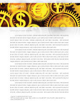 Financial/Accounting: Financiën Briefpapier Template #04839
