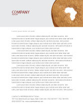 General: African Famine Letterhead Template #04841