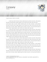 Business Concepts: Direction Of Movement Letterhead Template #04856