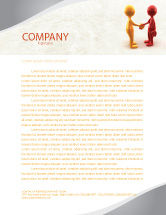 Business: Greeting Letterhead Template #04867