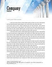 Careers/Industry: Ionic Columns Letterhead Template #04887