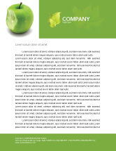 Education & Training: Apple Bite Letterhead Template #04900