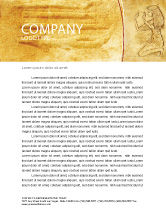 Education & Training: Egyptian Engraving Letterhead Template #04908