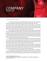 Art & Entertainment: Mystic Beauty Letterhead Template #04951