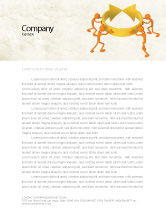 Business Concepts: Resolving Letterhead Template #04952