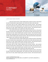 Education & Training: Education and Computer Letterhead Template #04976