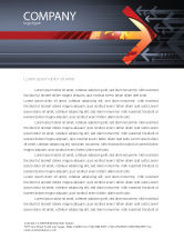 Business Concepts: Resistance Movement Letterhead Template #04988
