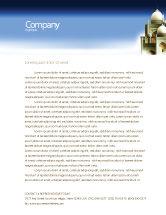 Religious/Spiritual: Islamic Architecture Letterhead Template #05013