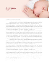 Medical: Breast Feeding Letterhead Template #05025