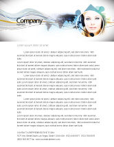 Telecommunication: Communication Service Letterhead Template #05039