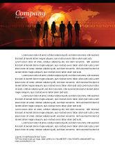 Careers/Industry: Success Story Letterhead Template #05060