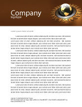Financial/Accounting: Global Currency Letterhead Template #05065