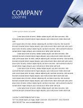 Cars/Transportation: Air Vessel Letterhead Template #05115
