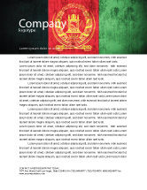 Flags/International: Afghanistan Letterhead Template #05152