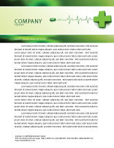 Medical: Medical Website Letterhead Template #05159