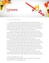 Consulting: Breaking Boundaries Letterhead Template #05163
