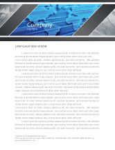 Global: Transborder World Letterhead Template #05178