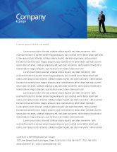 Education & Training: Happy Future Letterhead Template #05212