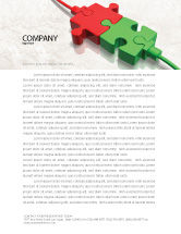 Business Concepts: Connected Letterhead Template #05214