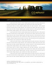 Flags/International: Stonehenge Letterhead Template #05232