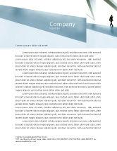 Business: Templat Kop Surat Berjalan Man #05240