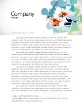 Business: Negotiation In Progress Letterhead Template #05249
