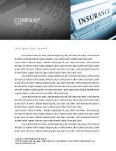 Careers/Industry: Insurance Letterhead Template #05253
