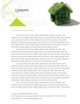 Careers/Industry: House of Flowers and Herbs Letterhead Template #05268