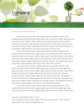 Financial/Accounting: Money Tree Letterhead Template #05271