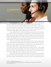 Careers/Industry: Telecoms Operator Letterhead Template #05311
