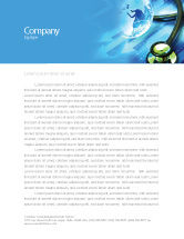 Global: Medical World Letterhead Template #05318