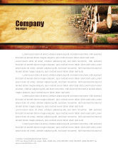 Careers/Industry: Saw Mill Letterhead Template #05341