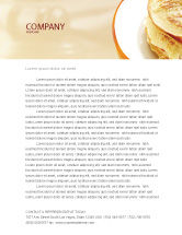 Food & Beverage: Pancakes Letterhead Template #05343