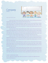 Financial/Accounting: Childish Letterhead Template #05368