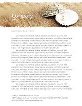 Holiday/Special Occasion: Perle Briefkopf Vorlage #05378