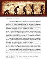 Consulting: Human Development From Ape Letterhead Template #05415