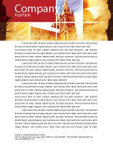 Religious/Spiritual: Holy Scripture Letterhead Template #05416