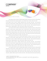Consulting: Matching Piece Letterhead Template #05496