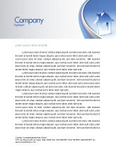 Construction: Crystal Home Letterhead Template #05505