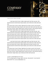 Utilities/Industrial: Chains Letterhead Template #05527