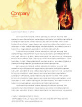 Art & Entertainment: Jazz Guitar Letterhead Template #05536