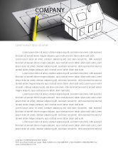 Careers/Industry: House Draft Letterhead Template #05541