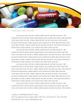 Medical: Drug Treatment Letterhead Template #05572