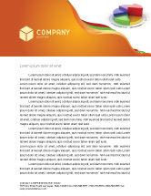 Consulting: Modelo de Papel Timbrado - 3d diagrama de pizza #05649