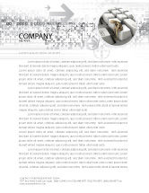 Business Concepts: Escape From Reality Letterhead Template #05668
