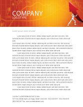 Financial/Accounting: Modelo de Papel Timbrado - forçando a melhorar o crescimento #05700