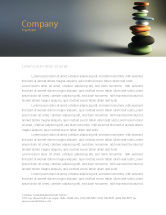 Business Concepts: Harmony Letterhead Template #05723