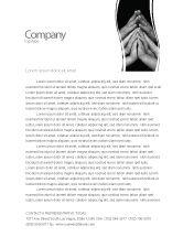 Religious/Spiritual: Family Harmony Letterhead Template #05745