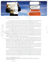 Business Concepts: Choosing Root Letterhead Template #05832