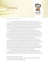 Education & Training: School Math Briefpapier Template #05855